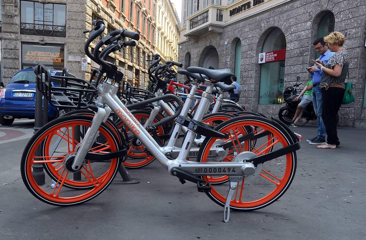 Milano da pechino arriva il bike sharing 39 libero 39 for Mobile milano bike sharing