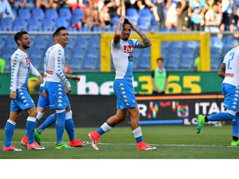 SNAI, Champions: Napoli, spettacolo anche in quota