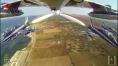 Volo tricolore in Puglia