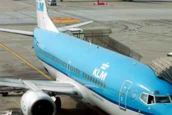 Problema tecnico, atterraggio di emergenza per un aereo della KLM