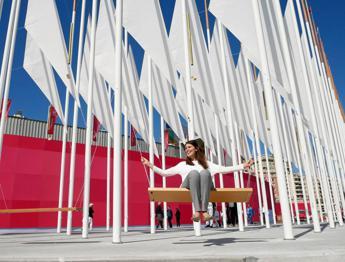 Inaugurata la 'Piazza del Vento' al Salone nautico di Genova