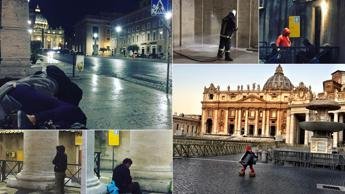 Homeless cleared from St Peter's Square 'for security reasons'