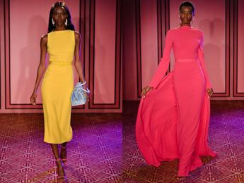 New York, i colori irrompono nella collezione di Brandon Maxwell