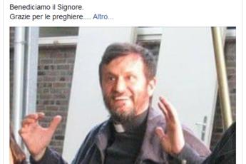 Freed priest to return to Italy on Thursday - govt