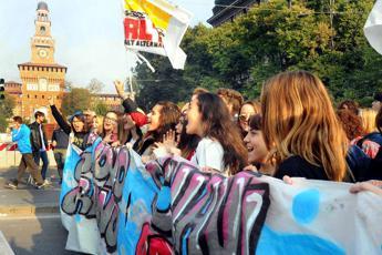 Studenti in piazza e domani corteo a Roma
