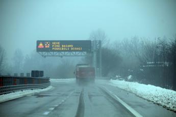 Autostrade: ecco le tratte a rischio neve