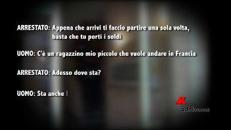 Traffico di esseri umani dall'Italia