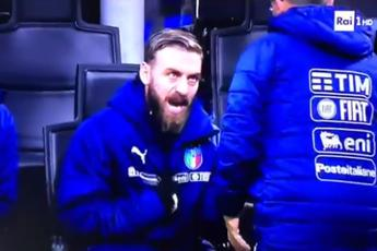 De Rossi, lite in panchina: \