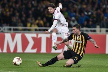 Europa League, pareggi per Milan e Atalanta