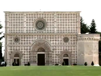 La basilica di Collemaggio restituita agli aquilani