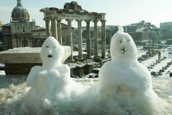Neve a Roma: il piano Raggi