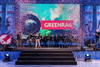 Premiata la startup ecosostenibile Greenrail all'Open Summit 2017 a Milano