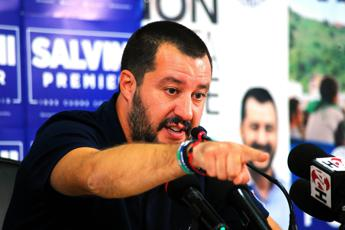 Salvini: A Como i tifosi dell'immigrazione di massa