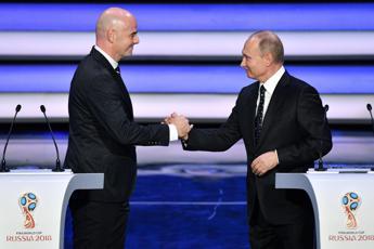 Mondiali 2018, Putin fischia l'inizio: Russia è pronta