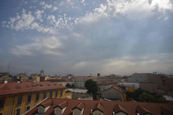 Italia divisa, caldo al Sud e pioggia al Nord
