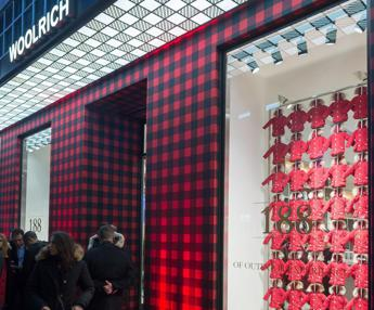 Primo flagship a Milano per Woolrich