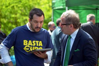 Lombardia, Salvini a Maroni: Se lasci, in politica non puoi più fare altro