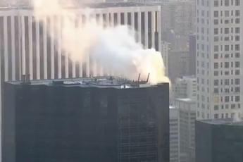 New York, incendio alla Trump Tower