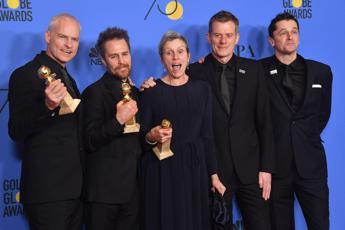 Golden Globe, trionfa 'Tre manifesti'