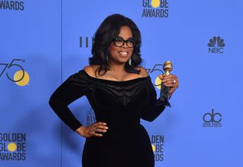Golden Globe, Oprah Winfrey commuove