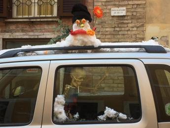 'Effetto neve' sull'umore dei romani