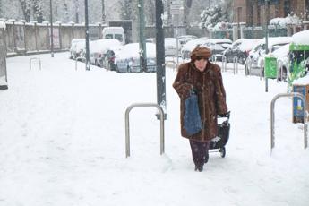 Gelo Italia, temperature fino a -10
