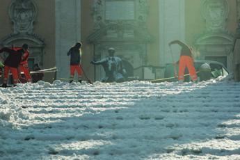 Neve e ghiaccio, il piano per Roma