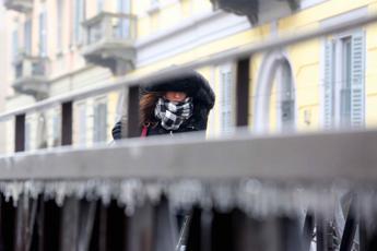 Vortice polare sull'Italia