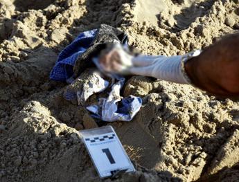 Cadavere sulla spiaggia a Termoli