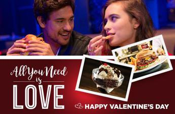 San Valentino da sogno all'Hard Rock Cafe