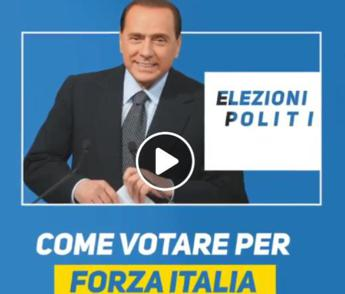 Ecco come si vota, video tutorial di Berlusconi