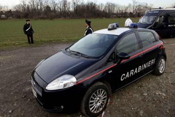 Cadavere a pezzi in due buste
