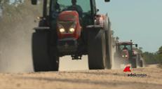 In Sudafrica col trattore