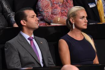 Matrimonio finito per Donald Trump jr