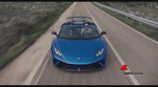 L'Huracán Lamborghini è spider