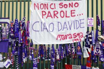 Firenze, lo stadio tutto per Astori