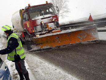 Maltempo e neve sulle autostrade: le previsioni
