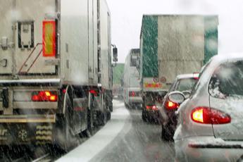 Autostrade: le tratte con ghiaccio