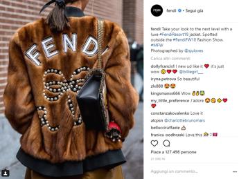 Gucci 're' di Instagram durante #MFW