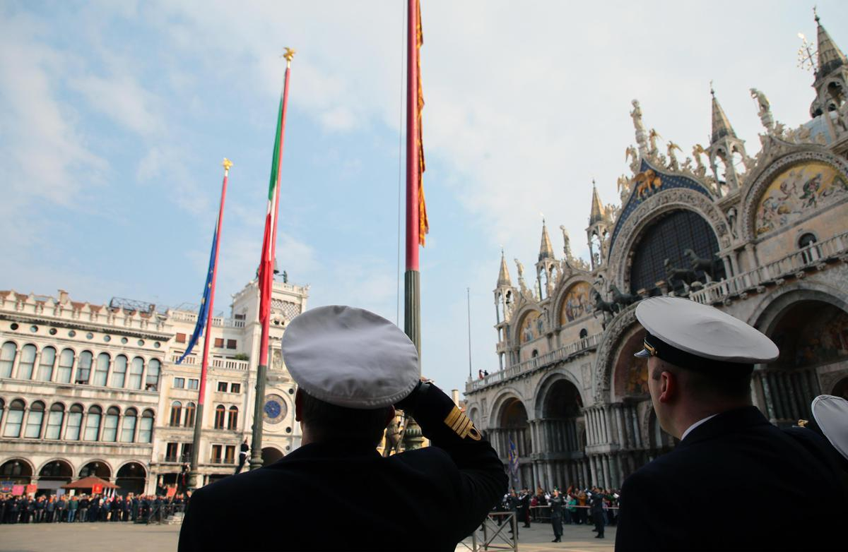 25 aprile, le celebrazioni in piazza San Marco