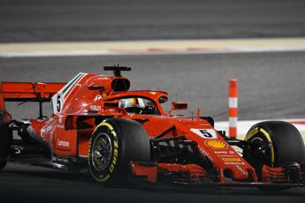 GP Bahrain, vince Vettel