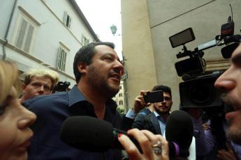Salvini vola a Roma