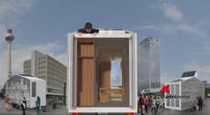 La casa 'mobile' da 9 mq