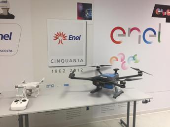 Enel, in centrale Civitavecchia arrivano i droni