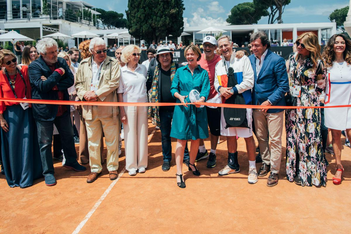 Seimila presenze per Tennis & Friends 2018