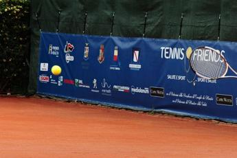 Tennis & Friends, a Napoli in campo anche il Pascale e il Santobono Pausillipon