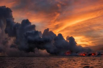Il vulcano Kilauea fa paura