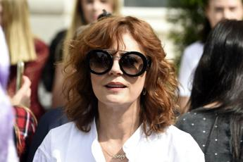 Susan Sarandon arrestata durante protesta anti-Trump