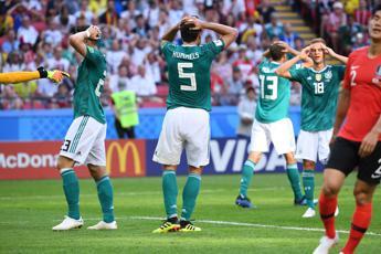 Germania fuori dai Mondiali