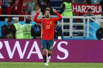 Spagna-Marocco 2-2: furie rosse agli ottavi